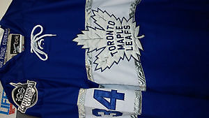 AUSTON Matthews 100TH  Centennial Classic Leafs hockey jersey