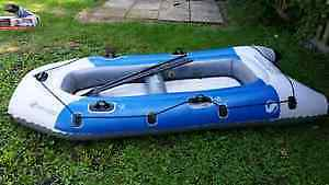 Bateau Gonflable-New Blue Grey Inflatable boat/canoe -Colossus