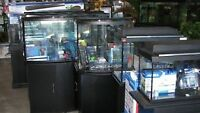 AQUARIUMS USED AND NEW