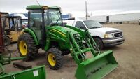 JOHN DEERE 4320 AUTOMATIC TRACKTOR  LIKE NEW WITH ATTACHMENTS