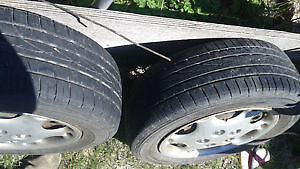 4 winter rims with excellent tires & 5 wheel discs off alero Belleville Belleville Area image 4