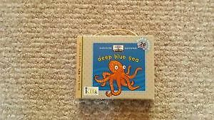 Deep Blue Sea Wooden Puzzle and Book - made of recycled material