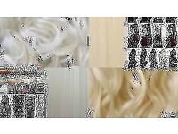 THICK CLIP IN WAVY/CURLY HAIR EXTENSIONS ONE PIECE FULL HEAD UK CLIP IN HAIR