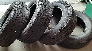 225/70R16	Michelin X-Ice	4 USED WINTER TIRES 80% TREAD LEFT