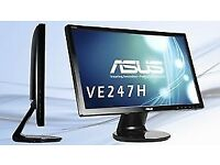 ASUS VE247H 24 inch Full HD LED 1080p Widescreen Monitor (Support with HDMI 2 ms