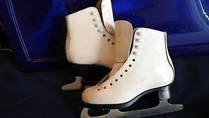 FIGURE SKATES SIZE 4 and size1 - $25;Hockey  skates CCM-13J -$25