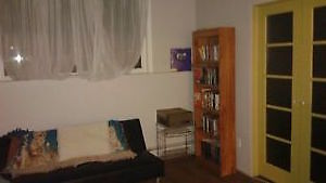 Room for rent. West by University. Internet and cable included.