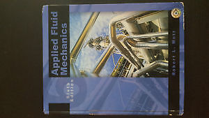 (NAIT Civil) Applied Fluid Mechanics 6th edition (with solution)