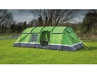 Spacious Immaculate Kalahari 10 Elite tent in Green, footprint, carpet, porch - used for 3 days