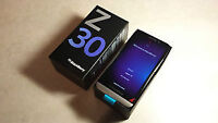 BLACKBERRY Z30 WITH CHARGER, CASE AND ORIGINAL BOX - ROGERS/FIDO