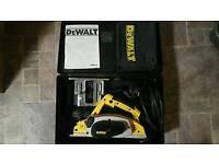 Dewalt 240v planer power tool