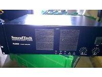 SoundTech PL802 Professional Audio Power Amplifier