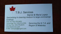 JANITORIAL SERVICES (INDUSTRIAL AND COMMERCIAL)
