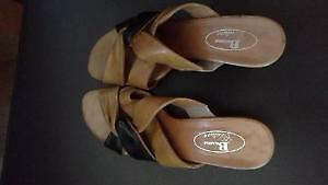 LEATHER DESIGNER SHOES *SIZE 7*