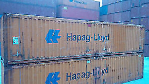 40' OPEN TOP Steel Shipping Container / Scrap  Waste Bin