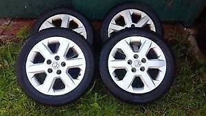 Rims Tyers Wheels Set Holden good condition and cheap price. Cammeray North Sydney Area Preview