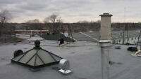 ROOFER 514-549-3350 ROOFING SOLUTIONS - NEW FLAT ROOF - REPAIRS