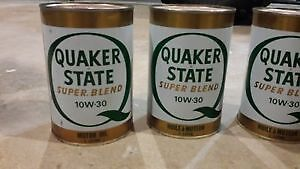 *Vintage Quaker state oil cans for sale*