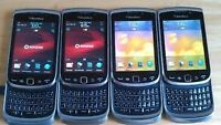 4-Blackberry Torch 9800-Good Condition-Touch Scren/Keypad