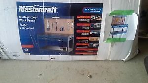 Mastercraft Multi-purpose work bench - New