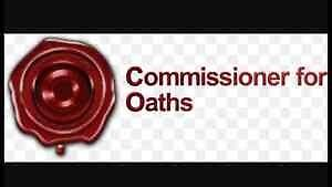Travelling Commissioner for Oaths - 7 Days