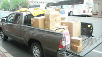 PICK UP TRUCK AND 1 PROFESSIONAL MOVER ONLY $50