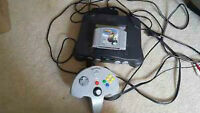 N64 with game and controller. Price is firm