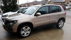 2015 Volkswagen Tiguan SUV, Crossover 6Spd Manual