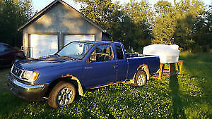 1998 Nissan Frontier XE Pickup Truck with Winter Tires