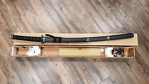 Samurai Sword with Stand (NEW)
