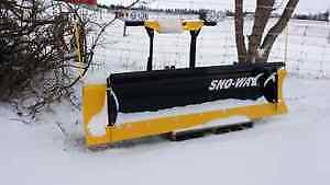 snow plows, truck plows, salters