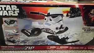 BRAND NEW STAR WARS GT SNOW RACER STILL IN THE BOX NEVER OPENED