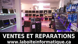 80 ORDINATEURS PORTABLE ET TOUR EN LIQUIDATION