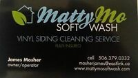 MattyMo Soft Wash Exterior Siding and Window Cleaning Service