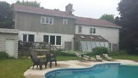 Orillia-room for rent with home gym and swimming pool