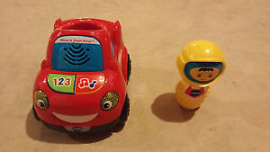 Like New Vtech move and zoom racer