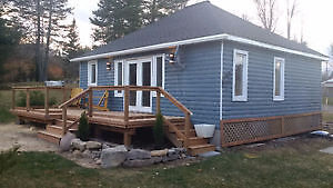 Halls Lake Cottage for rent-Dates available June,July,Aug,Sept.