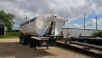 2010 gravel haul tridem end dump trailer