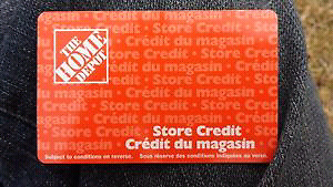 Home Depot Gift Card - 20% Off!  $85 for $68/firm!!