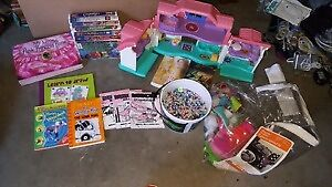 ALL TOYS MOVIES BOOKS FOR $20. CALL 519-673-9819