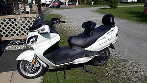 Suzuki burgman scooter