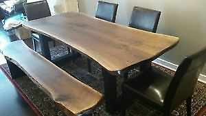 Beautiful Live Edge and Reclaimed Wood Tables Sale