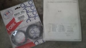 fork seals for crf, kx, rm