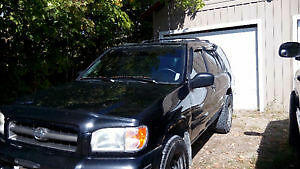 2001 Nissan Pathfinder 4X4 or will trade Kingston Kingston Area image 1