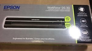 Epson WorkForce DS-30 Colour Portable Scanner