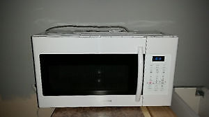 Almost NEW over the range microwave