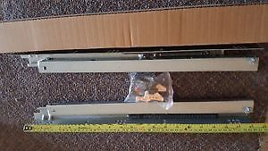 for standard 24''D kitchen cabinets self closed slids $5 pair,