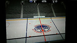 2 EDMONTON OILERS SEASON TICKETS 2016/17 @ CENTER ICE @ ROW 2 !