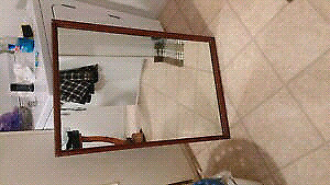 Antique mirror made by Croydon industries