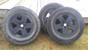 255 70 R18 Rugged Terrain T/A Tires (Jeep) Gatineau Ottawa / Gatineau Area image 2